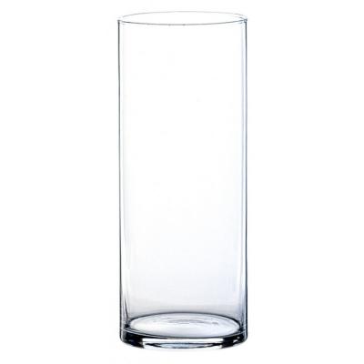 Vase cylindrique en verre