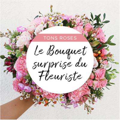 Bouquet du fleuriste pastel